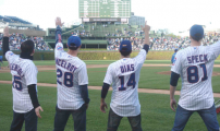 Press: Fugettaboudit! Jersey Boys Right on Key for 7th Inning Stretch
